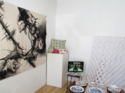Installation view of Live/Work: An Alternative Showcase