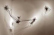 Mark Baugh-Sasaki: Strange Attractors, 2012, steel, granite