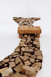 Mark Baugh-Sasaki: Oasis, installation
