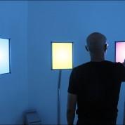 Tim Roseborough: CMYN, 2012, interactive installation, custom software