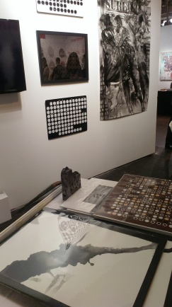 Installation view of ASC booth, SCOPE NY 2014