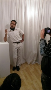 """Anthony Julius Williams performs """"James Baldwin's Take This Hammer"""" at ASC Projects (2014)"""